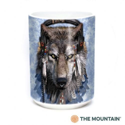 DJ Fen Wolf Ceramic Mug | The Mountain®